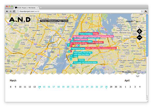 Изображение 3. A.N.D — новый интерактивный гид по культурным событиям.. Изображение № 4.