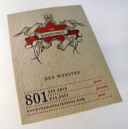 70 Нетривиальных визиток. Изображение № 59.