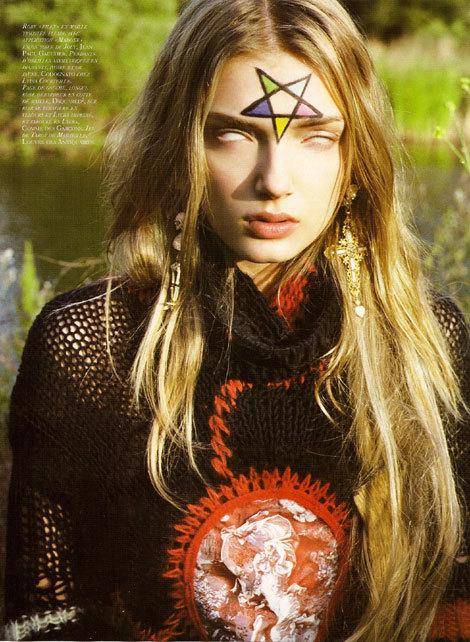 French 'Vogue': Devil Worship IsThe NewBlack!. Изображение № 2.