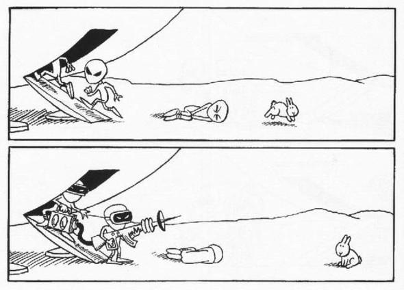 Кролики-самоубийцы(Bunny Suicides). Изображение № 62.