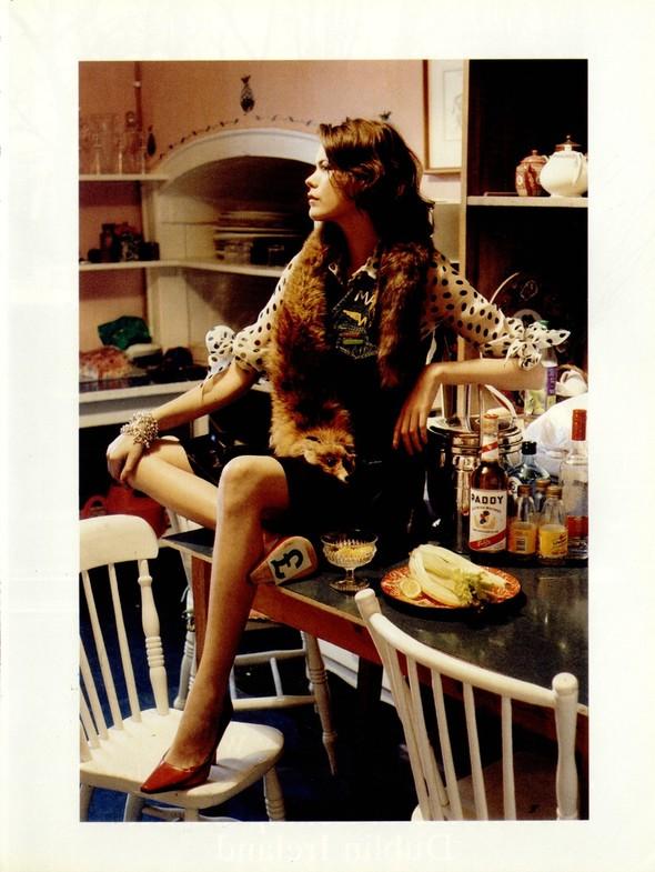 Архивная съёмка: Тим Уокер для итальянского Vogue, 2001. Изображение № 5.