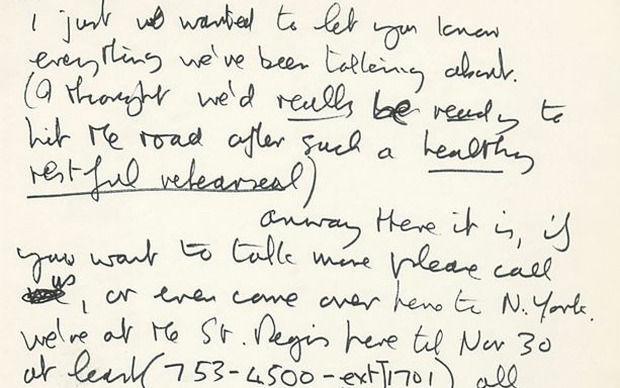 Письма Джона Леннона. Изображение № 2.
