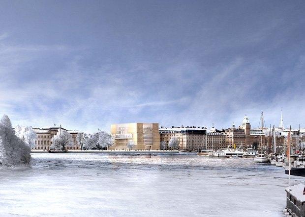 Опубликован проект Нобелевского Центра. Изображение № 6.