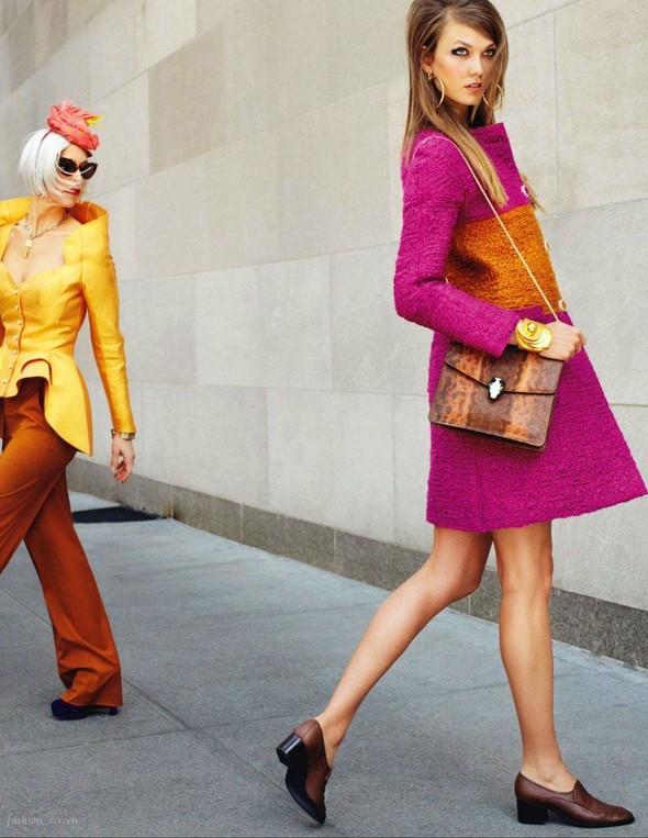 Съёмка: Карли Клосс для японского Vogue. Изображение № 9.