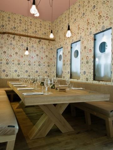 Вагоны - ресторан Fabbrica. Изображение № 7.