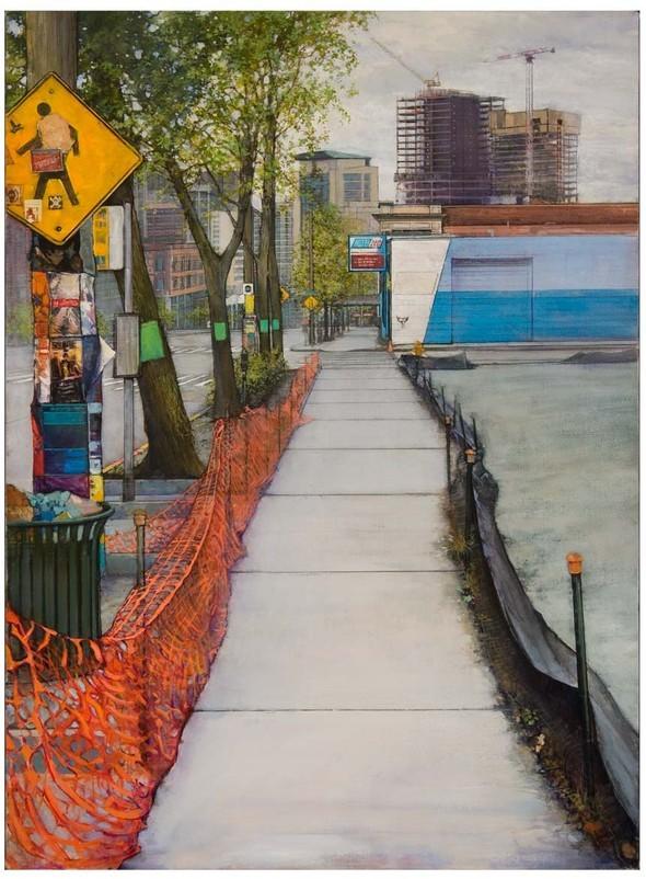 Кристофер Хофф. Рисует эти странные улицы. Изображение № 10.