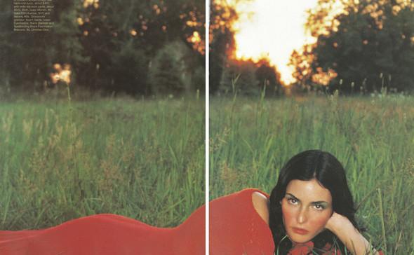 Архивная съёмка: Терри Ричардсон для Harper's Bazaar, 1997. Изображение № 5.