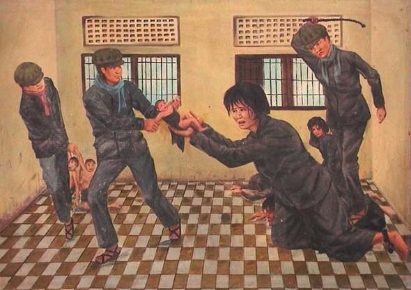 Кхмерский художник Vann Nath. Изображение № 20.