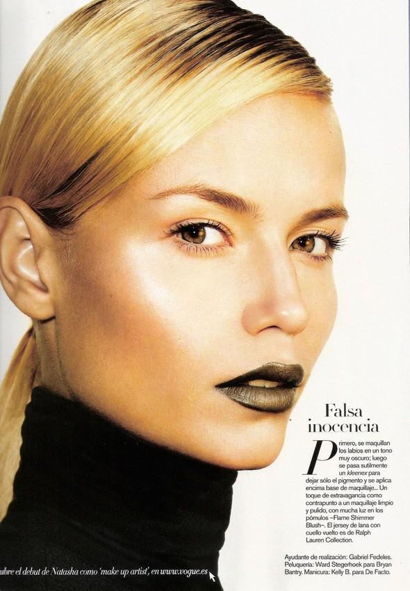 Съёмка: Наташа Поли для испанского Vogue. Изображение № 6.