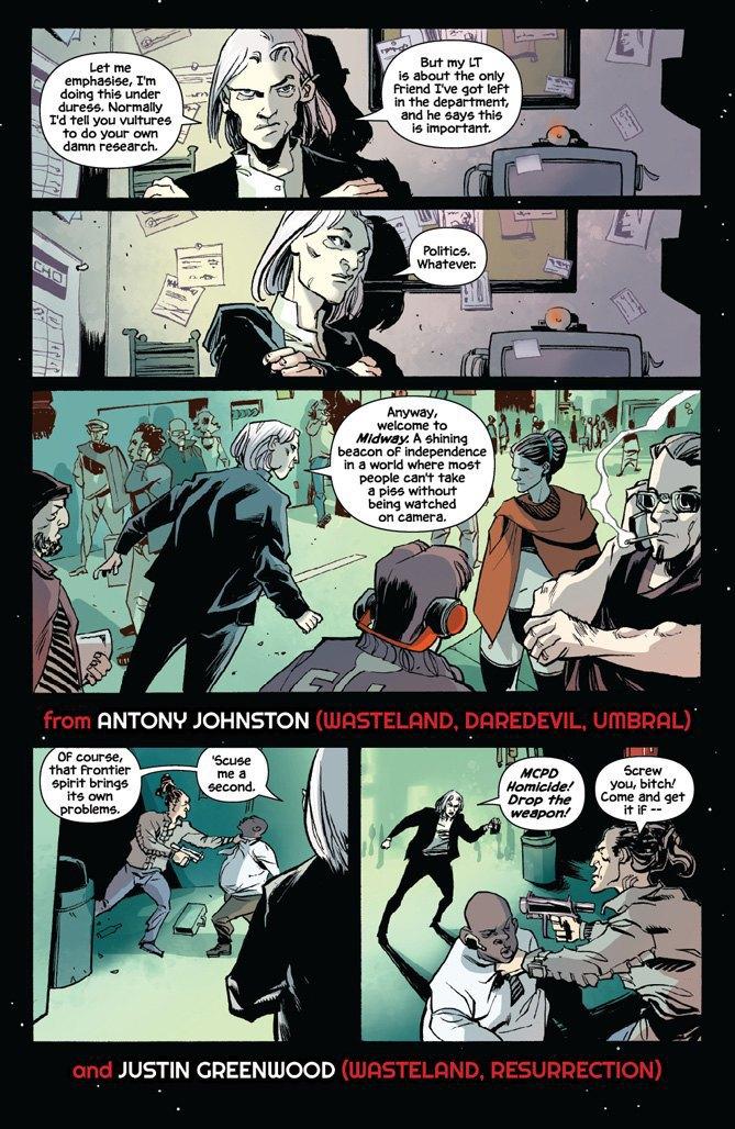 Автор комикса The Fuse об отношении иностранцев к России и женщинах-полицейских. Изображение № 11.