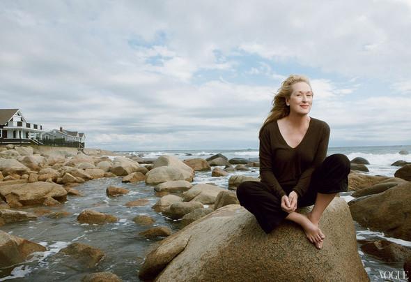 Съёмка: Мэрил Стрип для Vogue. Изображение № 3.