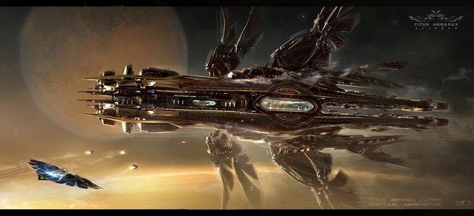 Художник «Восхождения Юпитер» выложил концепты к фильму. Изображение № 1.
