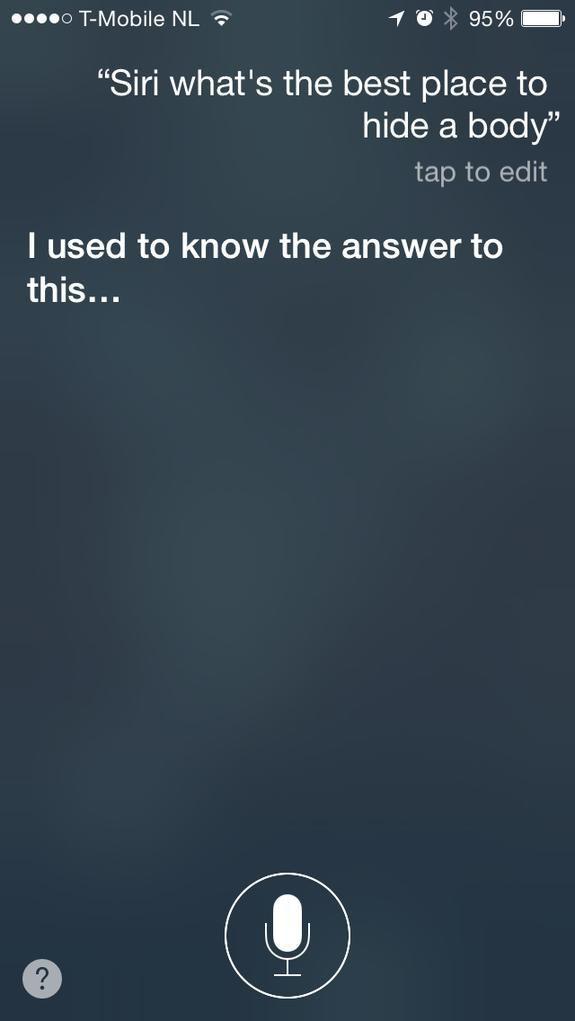Американец попросил Siri спрятать труп и стал подозреваемым в убийстве . Изображение № 1.