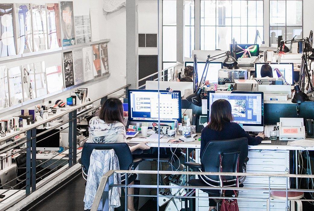 Гельветика и ретро: Как выглядит офис легендарного дизайн-бюро Pentagram. Изображение № 7.