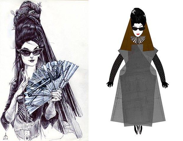 Иллюстрации с Диан Перне. Изображение № 40.