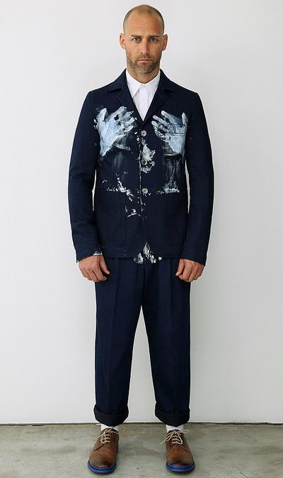 Мужская коллекция Alexander McQueen весна-лето 2010. Изображение № 8.