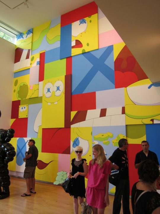 Выставка художника и дизайнера KAWS. Изображение № 8.