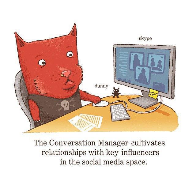 «Менеджер по переговорам развивает отношения с ключевым влиянием в социальных медиа». Изображение № 2.