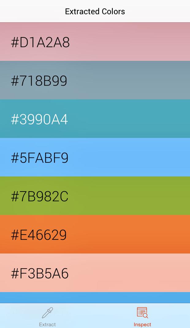 Вышло приложение для захвата и анализа цвета с фотографий. Изображение № 6.