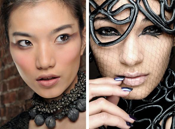 Перевести стрелки: тенденции макияжа FW 2010. Изображение № 10.