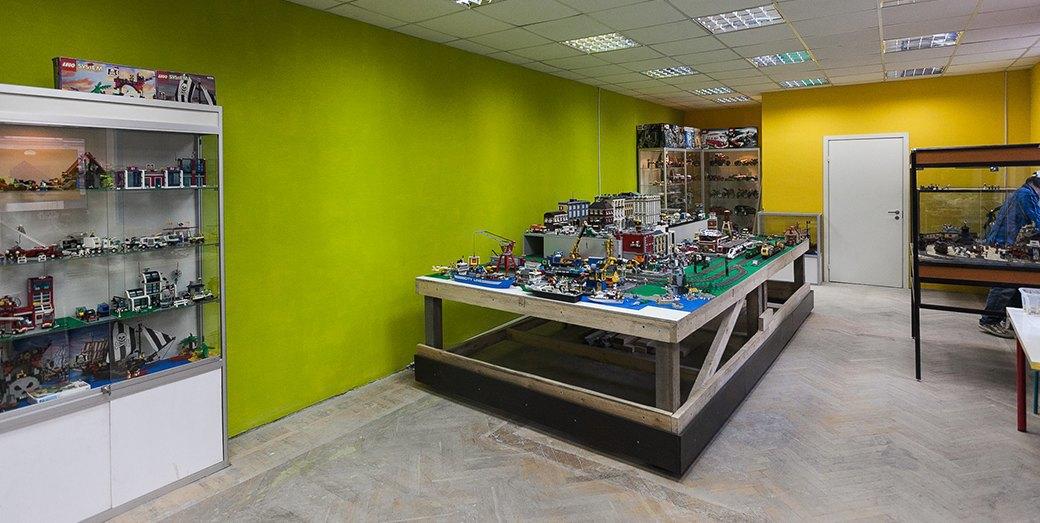 Как выглядит первый музей LEGO в Санкт-Петербурге. Изображение № 1.