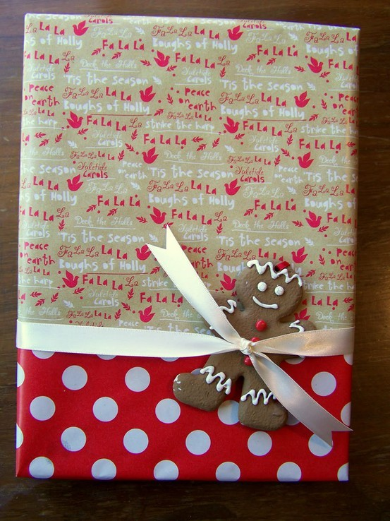 55 идей для упаковки новогодних подарков. Изображение №18.