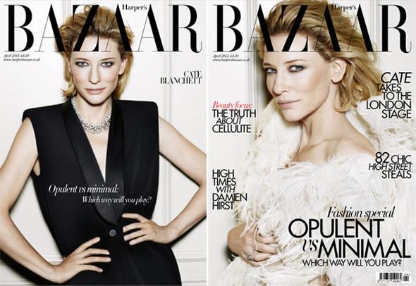 Обложки за апрель: Vogue, Harper's Bazaar, Numéro и др. Изображение № 1.