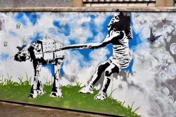 Изображение 7. Бристоль. Художественное граффити.. Изображение № 9.