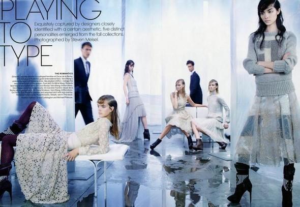 Съёмка: Стивен Майзел для Vogue. Изображение № 1.