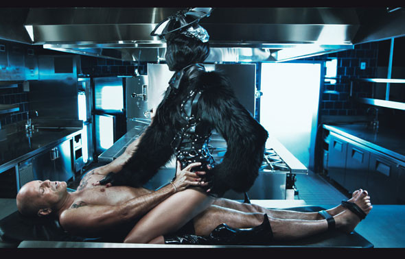 Mr. & Mrs. Willis by Steven Klein. Изображение № 1.