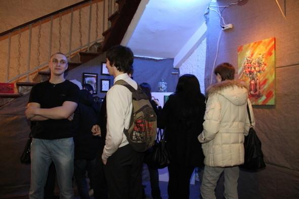 Изображение 8. Открытие персональной выставки Димы Snils'a.. Изображение № 8.