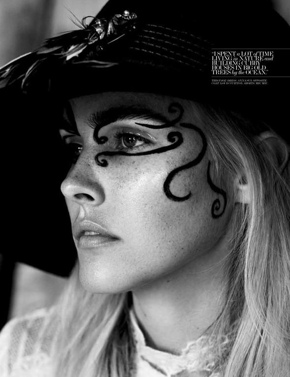 Съёмка: Изабель Лукас для Interview. Изображение № 4.