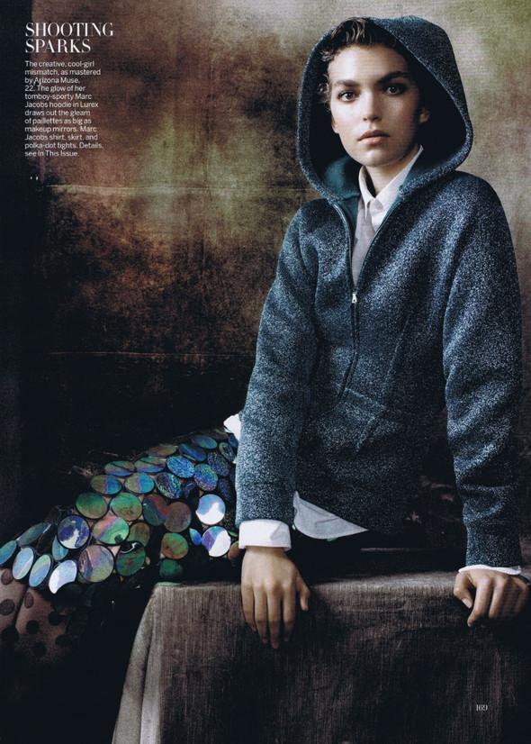 Съёмка: Стивен Майзел для американского Vogue. Изображение № 8.