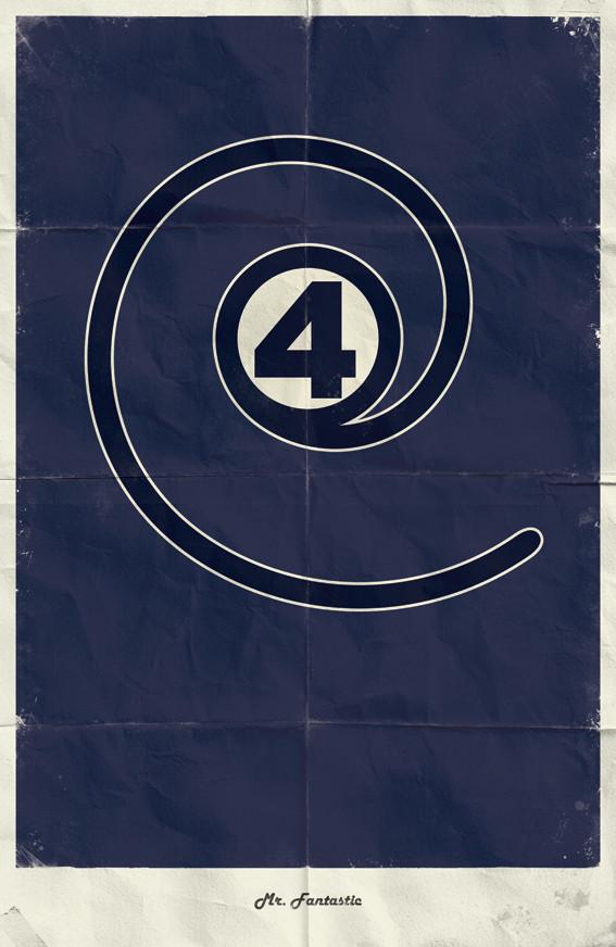Минималистичные постеры для Marvel Comics. Изображение № 12.