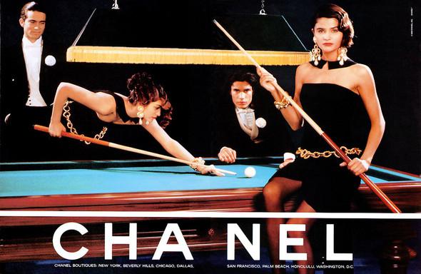 Архивная съёмка: Рекламная кампания Chanel SS 1990. Изображение № 14.