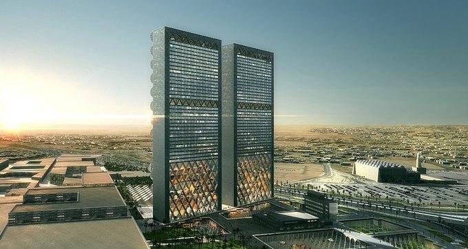 Бюро REX предложило концепцию небоскрёба с функцией зонта. Изображение № 2.