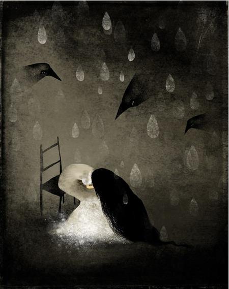 Темная тоска посветлым воспониманиям детства. Изображение № 2.