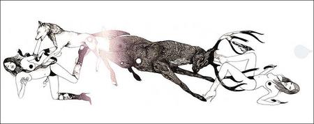Иллюстрации Дэйвида Брэя грация исексуальный подтекст. Изображение № 29.