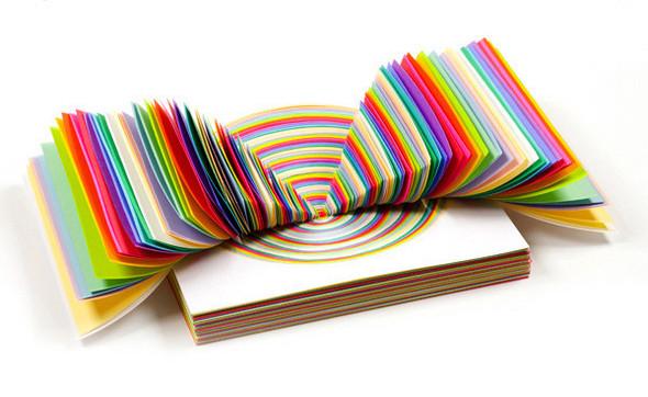 Абстракция из цветной бумаги. Изображение № 8.