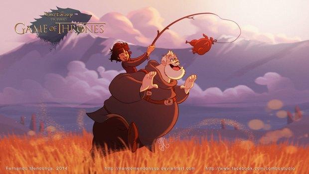 «Игру престолов» превратили в мультфильм Disney. Изображение № 5.