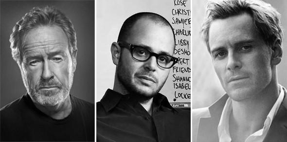 Ридли Скотт, Майкл Фассбендер и Дэймон Линделоф о «Прометее». Изображение № 1.