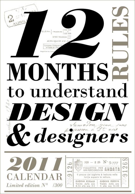 Календарь для дизайнеров от Harmonie Interieure. Изображение № 1.
