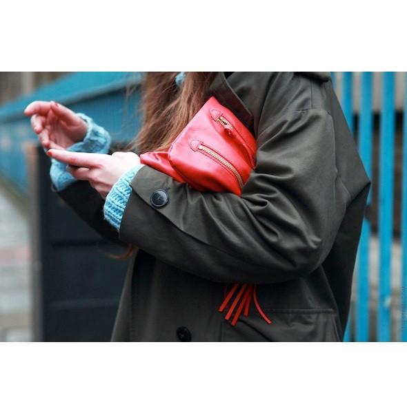 Изображение 60. На полях: 10 тенденций уличного стиля с прошедших недель моды.. Изображение № 60.