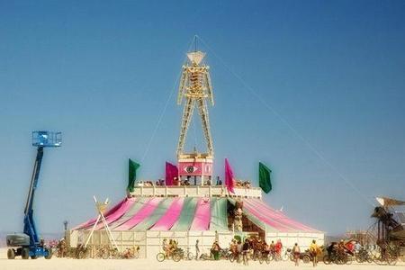 """Фестиваль """"Burning Man! """" вНеваде. Изображение № 10."""