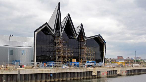Изображение 5. Музей транспорта Glasgow Riverside от Zaha Hadid.. Изображение № 5.