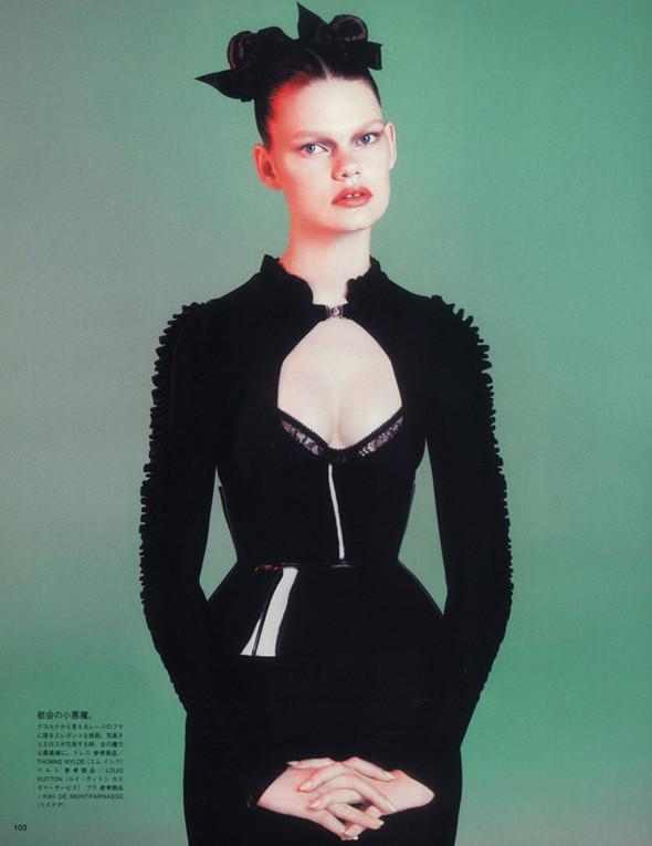 Съёмка: Келли Миттендорф для японского Vogue. Изображение № 7.