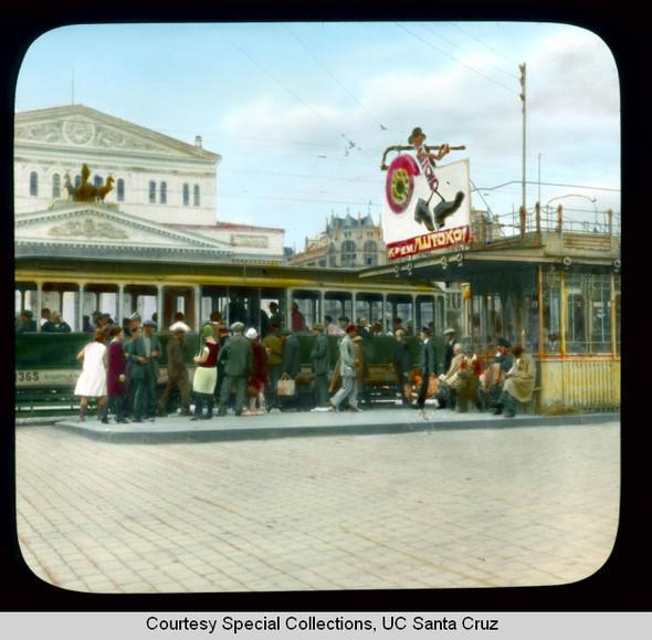Изображение 13. Москва в цвете 1920-30х годов.. Изображение № 11.
