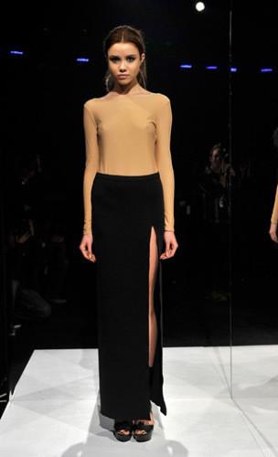 Lublu Kira Plastinina FW 2011 на показе на Нью-Йоркской неделе моды. Изображение № 16.