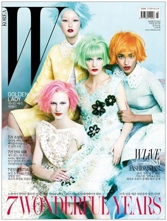 Обложки: Vogue, W и Pop. Изображение № 7.