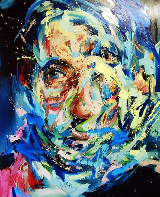 Абстрактные мужские портреты Эндрю Сальгадо. Изображение № 5.